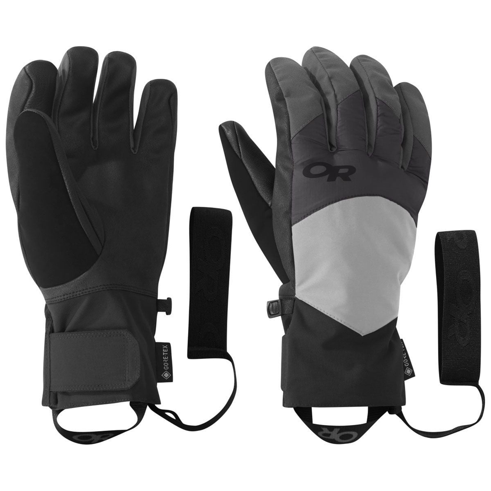 アウトドアリサーチ OUTDOOR RESEARCH Mens Fortress Sensor Gloves Black/Storm [2019年新作]