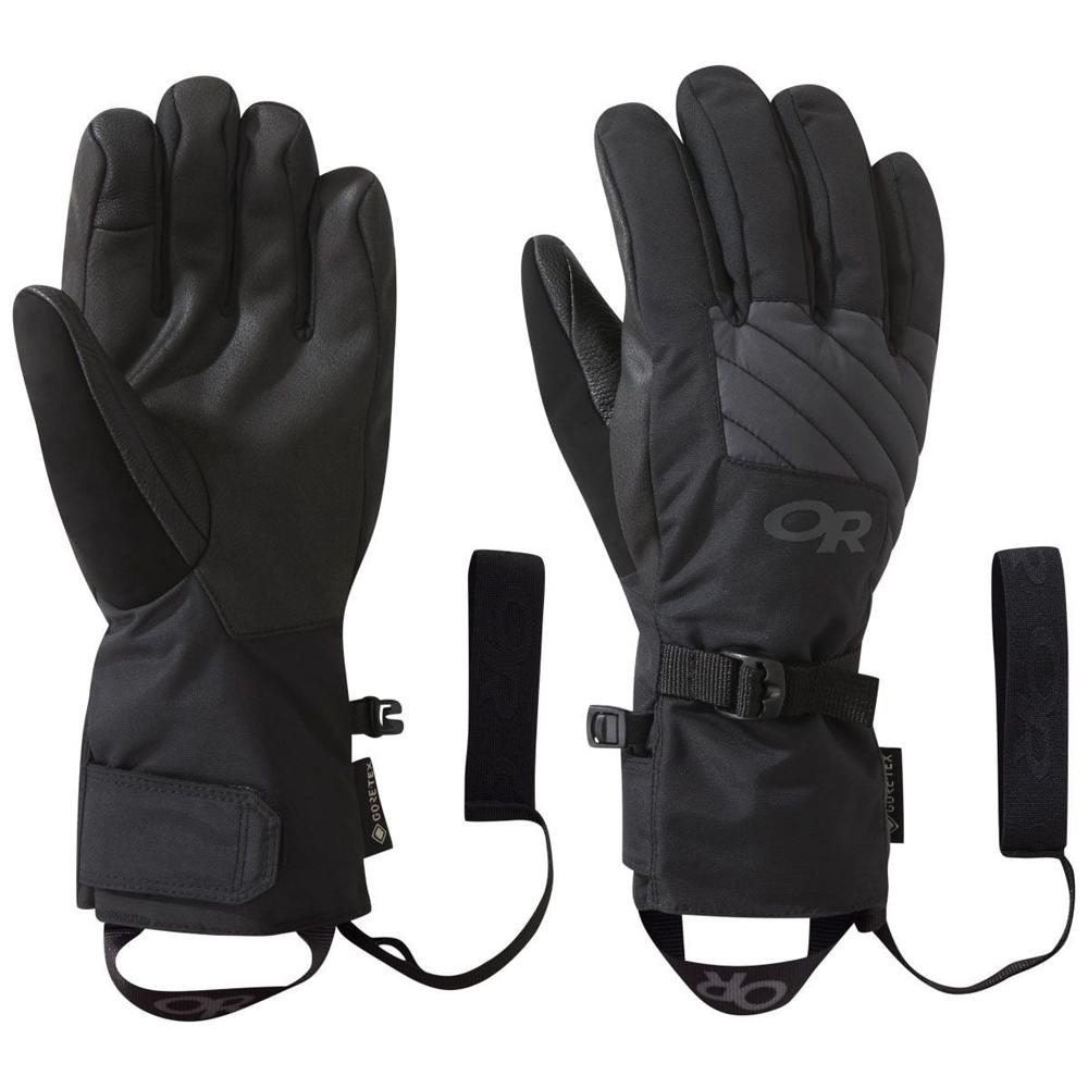 アウトドアリサーチ OUTDOOR RESEARCH Womens Fortress Sensor Gloves Black/Storm