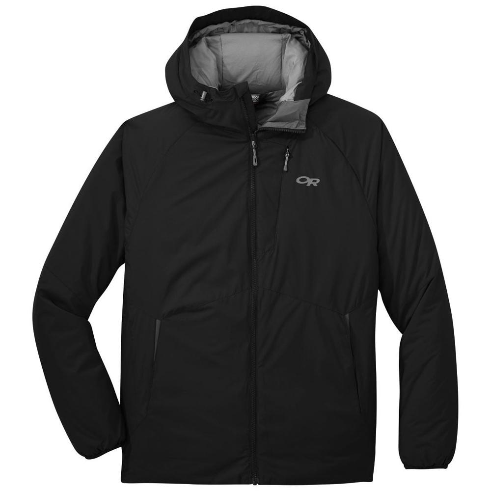 アウトドアリサーチ OUTDOOR RESEARCH Mens Refuge Hooded Jacket Black [2019年新作]