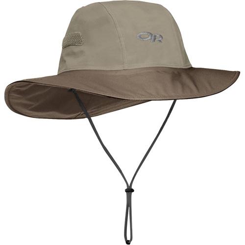 アウトドアリサーチ OUTDOOR RESEARCH Seattle Sombrero Khaki/Java [シアトルソンブレロ][帽子][防水][GORE-TEX ゴアテックス][レインウェア][7/6 13:59まで ポイント10倍]