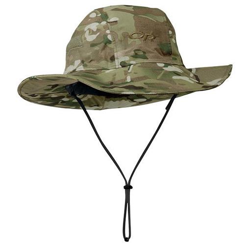 アウトドアリサーチ OUTDOOR RESEARCH Seattle Sombrero Multicam [シアトルソンブレロ][帽子][防水][GORE-TEX ゴアテックス][レインウェア]