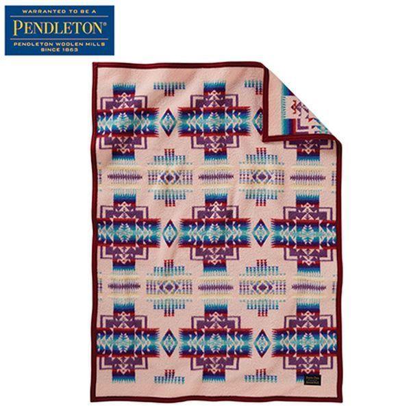 ペンドルトン PENDLETON チーフジョセフクリブブランケット ピンク