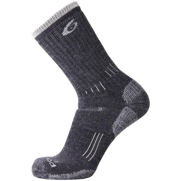 ソックス 靴下 ファインメリノウール 評判 ニュージーランド産 Point6 Heavy Trekking 新品未使用 Gray Crew
