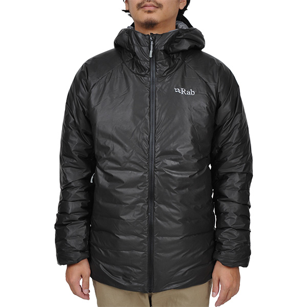 【vic2セール】 ラブ Rab Verglas Jacket Anthra-Zinc [QDA-99-BK][2019年新作]