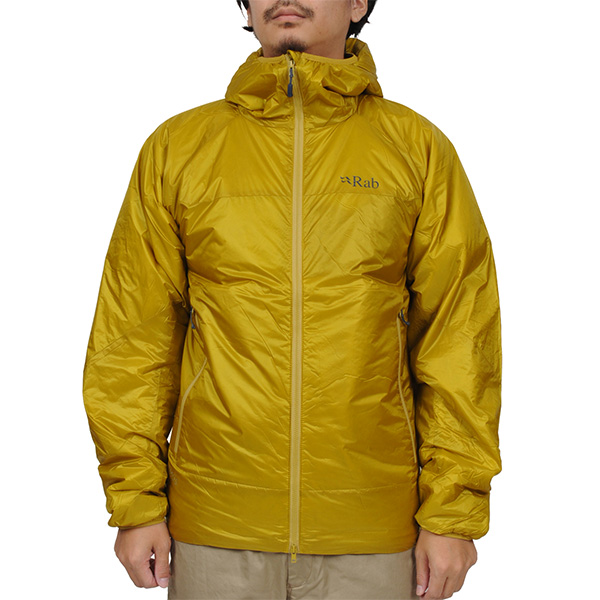 ラブ Rab Xenon Jacket Dark Sulphur [QIO-48-DS]