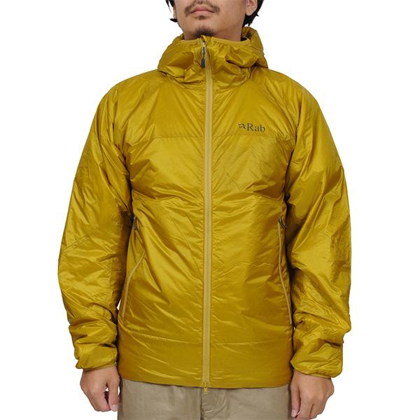 【vic2セール】 ラブ Rab Xenon Jacket Dark Sulphur [QIO-48-DS][2019年新作]