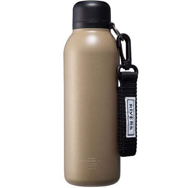ハイスペック 軽量 ステンレス ボトル 水筒 リバーズ RIVERS 激安通販専門店 バキュームフラスク 500ml 保温保冷ボトル BL タン ステム 送料込 STEMBLTA 0.5L 超軽量