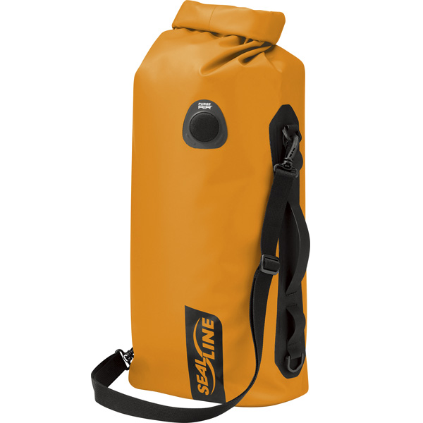シールライン SealLine Discovery Deck Dry Bag オレンジ 50L [ディスカバリーデッキドライバッグ][防水][32347]