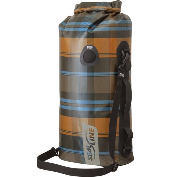 シールライン SealLine Discovery Deck Dry Bag オリーブプラッド 50L [ディスカバリーデッキドライバッグ][防水][32348]