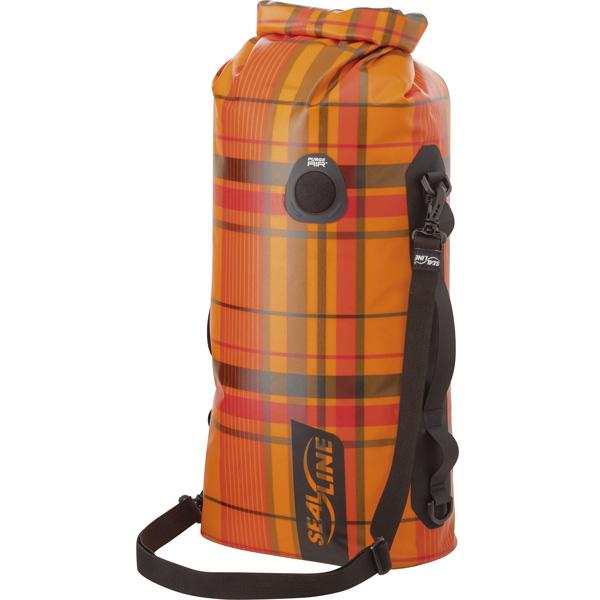 シールライン SealLine Discovery Deck Dry Bag オレンジプラッド 50L [ディスカバリーデッキドライバッグ][防水][32349]