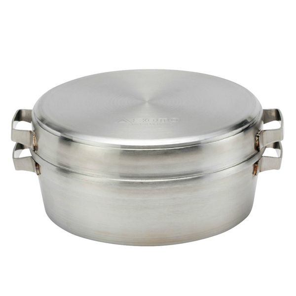 SOTO ソト 新富士バーナー SOTO ステンレスダッチオーブン 10インチデュアル [ソト][鍋][ステンレス][スキレット][家庭用][IH対応][圧力鍋][万能鍋]