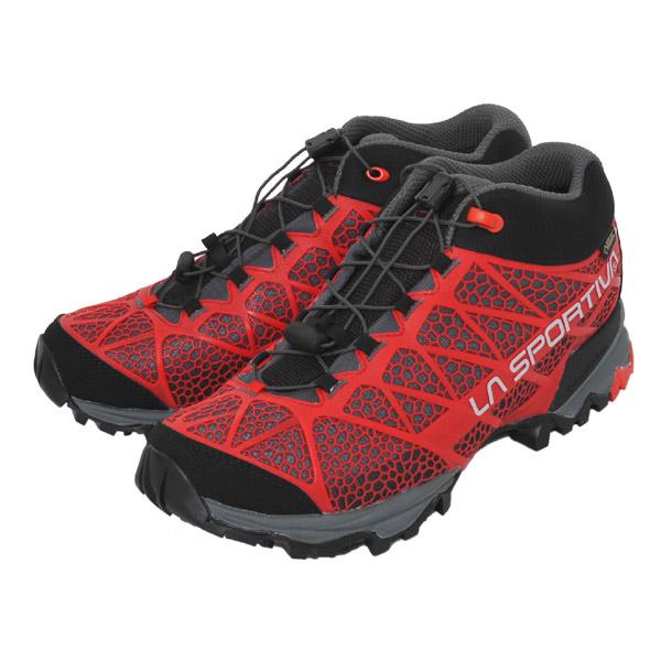 ラ スポルティバ LA SPORTIVA Synthesis Mid GTX Red [シンセシス][トレッキングシューズ][GORE-TEX][トレッキングシューズ][登山靴][メンズ][レッド][14PRE]