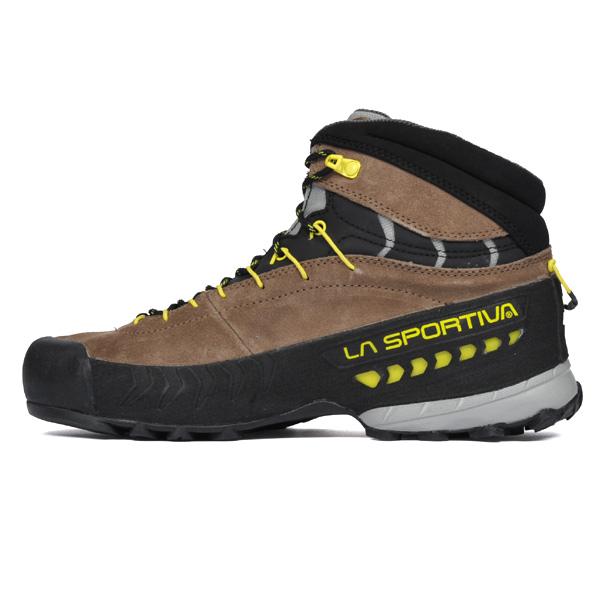 ラ スポルティバ LA SPORTIVA TX4 Mid GTX Taupe/Sulphur [トラバースX4][ミッドカット][ゴアテックス][シューズ][登山靴][トレッキング][GORE-TEX][メンズ][27E801702]