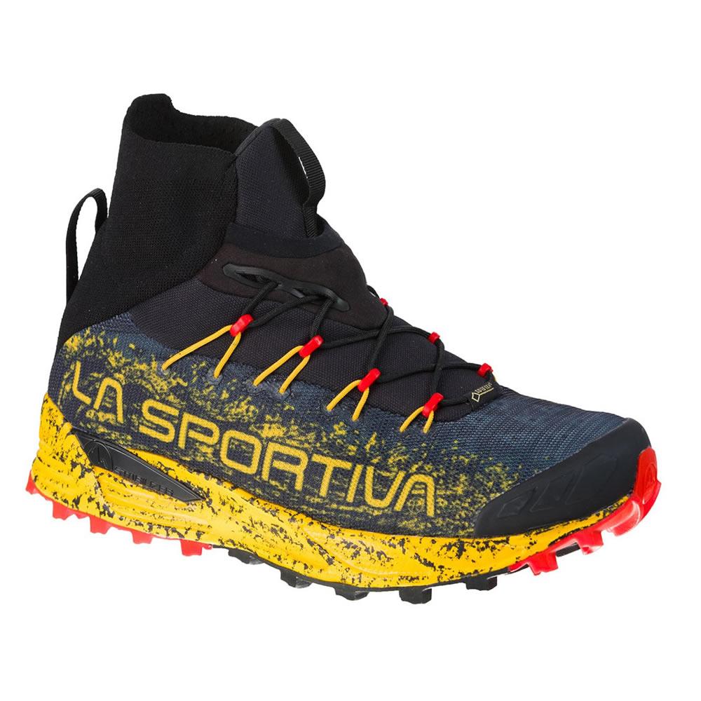 ラ スポルティバ LA SPORTIVA Uragano GTX Black/Yellow [ウラガノGTX][ゴアテックス][靴][シューズ][トレラン][ランニング][4/4 9:59まで ポイント10倍]