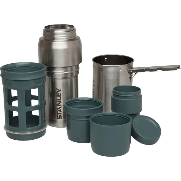 スタンレー STANLEY 真空コーヒーシステム 0.5L シルバー [コーヒー][アウトドア][キャンプ][登山][ピクニック][ハイキング][公園]