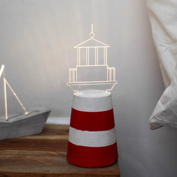 ストゥールサイドデザイン STURLESIDESIGN Lamp Light House [ライトハウス][ハンドメイドライト][アクリル][コンクリート][SDL0009]