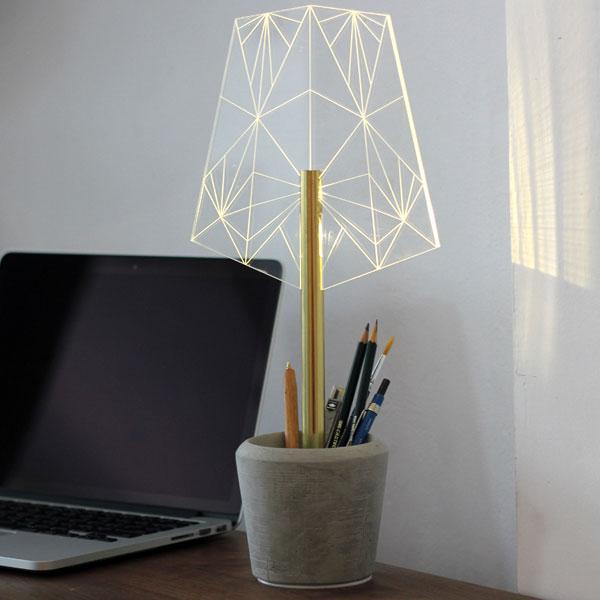 ストゥールサイドデザイン STURLESIDESIGN Lamp Wired/A [ハンドメイドライト][アクリル][コンクリート][SDL0010][8/10 13:59まで ポイント3倍]