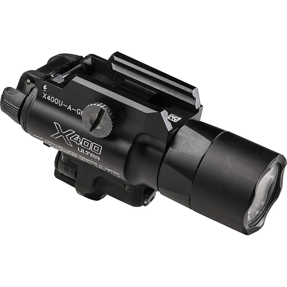 シュアファイア SUREFIRE X400 ウルトラ LED ウェポンライト レッドレーザー[4/4 9:59まで ポイント2倍]