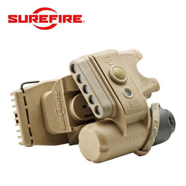 シュアファイア SUREFIRE HL1ヘルメットライトTN Cモデル(ホワイト/レッド) [vic2]
