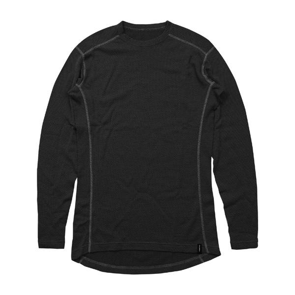 ティートンブロス Teton Bros. MOB Wool L/S Black [TB193-680302][2019年新作]