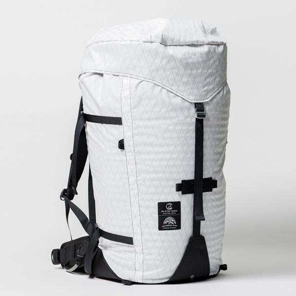 サードアイチャクラ The 3rd Eye Chakra The Back Pack #002 70L White [バックパック]