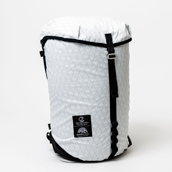 サードアイチャクラ The 3rd Eye Chakra The Back Pack #002 Packable 25L White