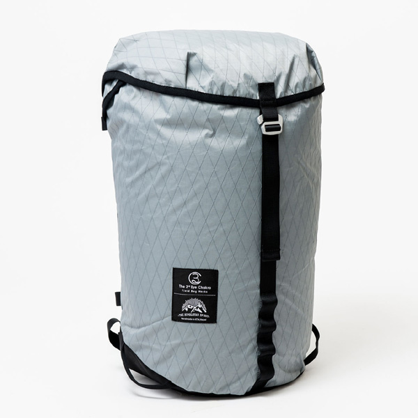 サードアイチャクラ The 3rd Eye Chakra The Back Pack #002 Packable 25L Gray