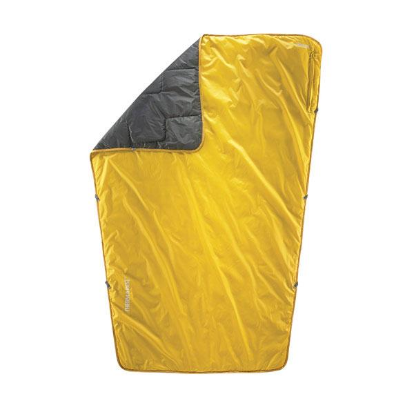 サーマレスト THERM A REST Proton Blanket ラージ カリー [ブランケット][エラロフト][防寒具][防水][断熱][災害用][11/16 9:59まで ポイント3倍]
