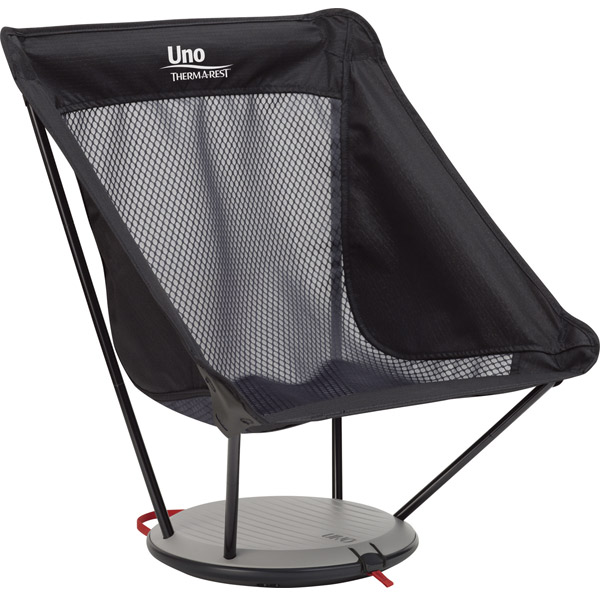 サーマレスト THERM A REST Uno Chair ブラックメッシュ [30512][11/16 9:59まで ポイント3倍]
