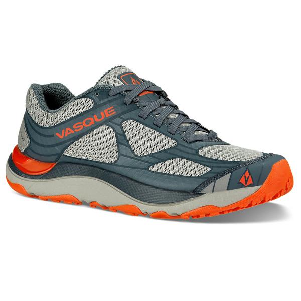 【vic2セール】 バスク VASQUE Mens Trail Bender Neutral Gray/Orange [トレイル][ベンダー][トレラン][シューズ][靴][登山][ランニング]