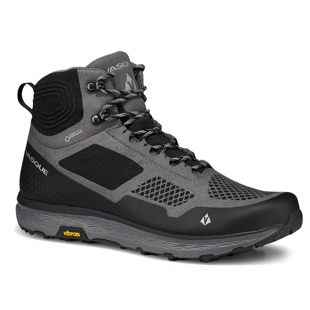 バスク VASQUE Mens Breeze LT GTX Gargoyle/Jet Black [ブリーズLT GTX]