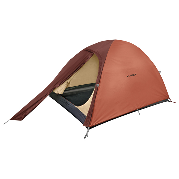 ファウデ VAUDE Campo Compact XT 2P Terracotta [キャンピングテント][2人用][3シーズン][11841]