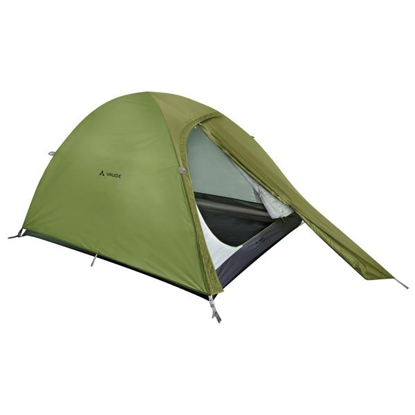 ファウデ VAUDE Campo Compact XT 2P Chute Green [キャンピングテント][2人用][3シーズン][11841]