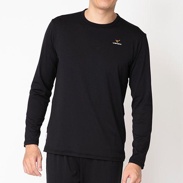 ベネクス VENEX メンズ リフレッシュ Tシャツ ロングスリーブ ブラック