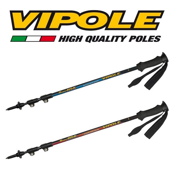 バイポール VIPOLE SUPER HSA ALU QL [スーパーHSAALUQL][トレッキングポール][登山杖][スティック][7/26 9:59まで ポイント5倍]