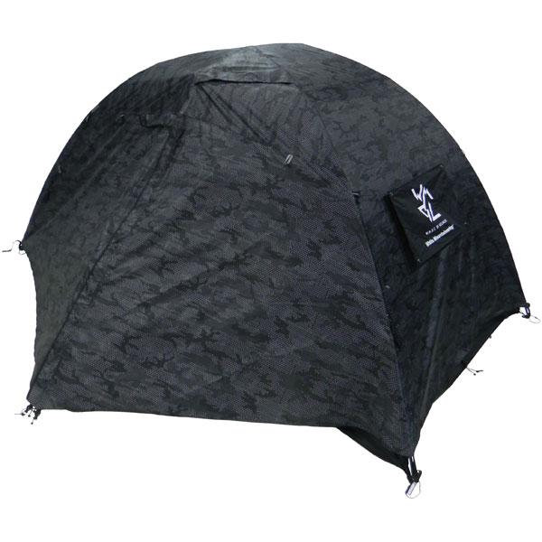 【予約商品 7月下旬~8月上旬頃入荷予定】 ホワイトマウンテニアリング White Mountaineering WMBC × Helinox TENT BLACK [2018春夏モデル]