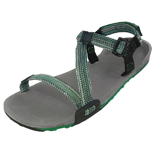ゼロシューズ Xero Shoes ZトレイルW's チャコール/マルチグリーン [TRW-MGRN]