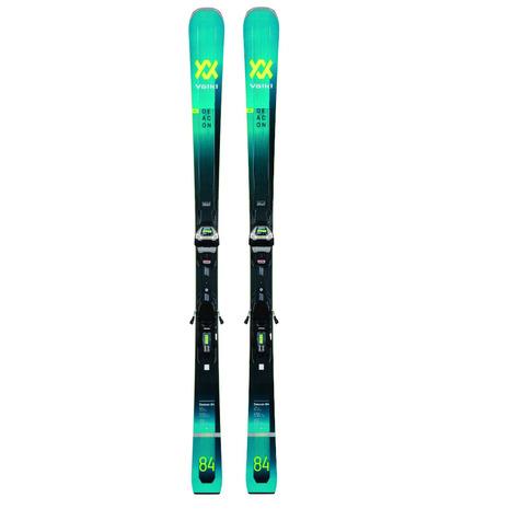 フォルクル(VOLKL) 特典付き 【早期予約・12月中旬発送予定】【特別割引】 スキー板ビンディング付属 21 DEACON84 + LRXL13FRDGWBLK/TEAL 120221/7535U1VP (Men's)