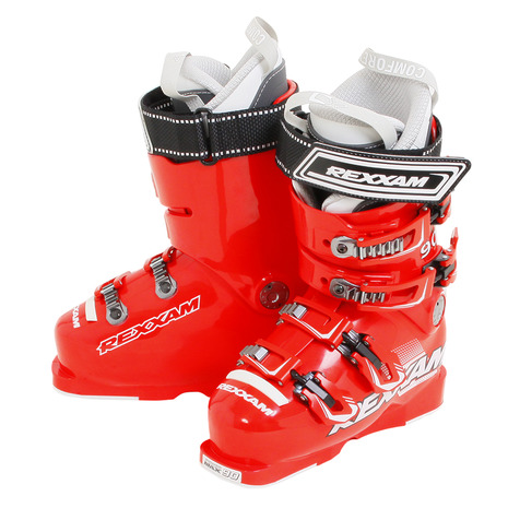 REXXAM スキーブーツ 18 POWER MAX-M90 CX-SSインナー RED (Men's)