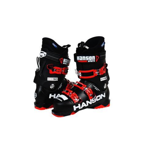 ハンソン(HANSON) 2017-2018 SPYDER 90 ULTRALIGHT 302HN8TZ9311 BLK スキーブーツ メンズ (Men's)