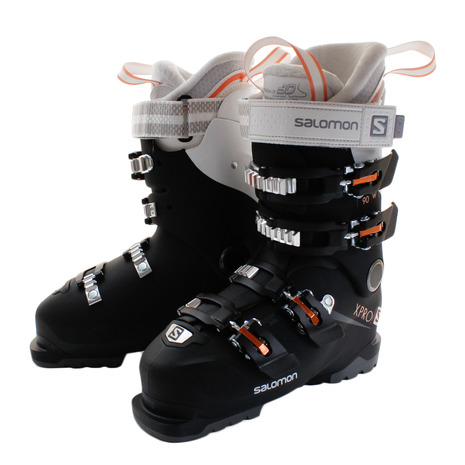 1819 Salomon X Pro 90 W Ski Boot BlackWhiteCorail