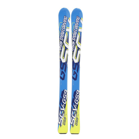 スノーカービング(SNOW CARVING) 2016-2017 SCV GS-9 BLU キッズ ジュニア スキー板 ビンディング別売309SC7AO1022 BLU (Jr)
