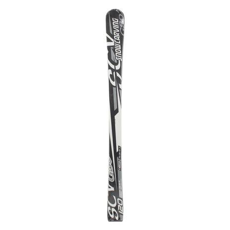 スノーカービング(SNOW CARVING) ジュニア スキー板 ビンディング別売 18 SCV GS9 BLK +309SC8AO9491BK (Jr)