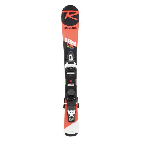 ロシニョール(ROSSIGNOL) ジュニア スキー板 ビンディング付属 19HERO PRO BABY+TEAM 4 (Jr)