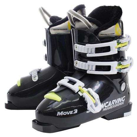 スノーカービング(SNOW CARVING) ジュニア スキーブーツ MOVE3 310SC9NS5514 BLK (Jr)