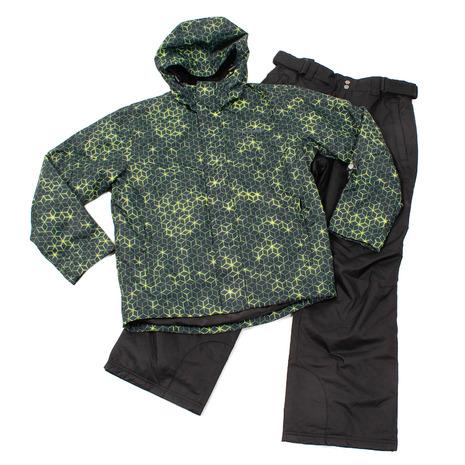 ポイントUP! スノーカービング(SNOW CARVING) ヒートクロス ハニカムプリントスーツ 313SC9MP5605 NVY (Men's)