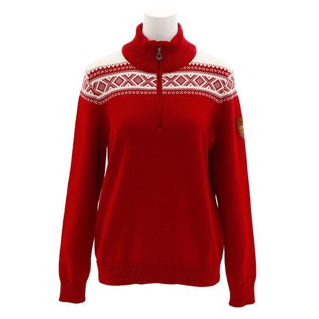 ノーブランド(NO BRAND) CORTINA メリノ フェミニン セーター 93811 BLUEOFWT (Lady's)