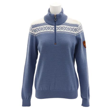 ノーブランド(NO BRAND) CORTINA メリノ フェミニン セーター 93811 BKOFWT (Lady's)