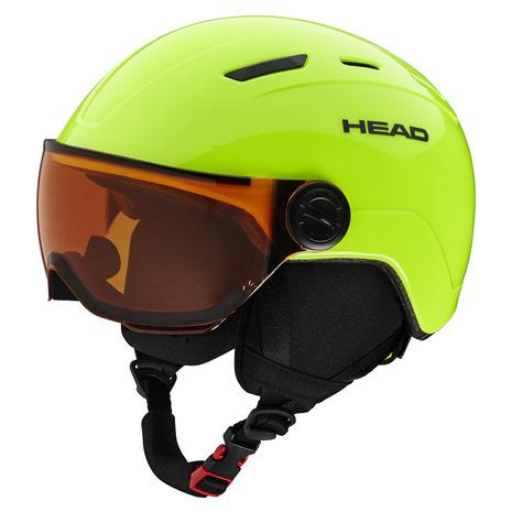 【5/25 0:00-23:59 5のつく日エントリーで5倍~】 ヘッド(HEAD) ヘルメット MOJO Visor lime (Jr)