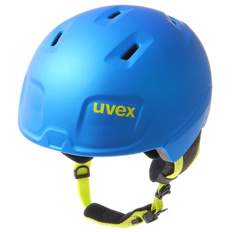 【5/25 0:00-23:59 5のつく日エントリーで5倍~】 ウベックス(UVEX) ヘルメット manic pro BLU 56.6.224.4605 (Jr)